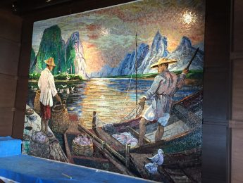 Mosaic Tile Artwork from Master Mosaic Designer Danilo Bonazza